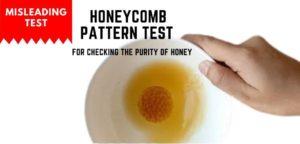 Honey comb test